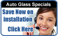auto glass replacement specials